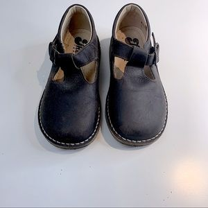 🇫🇷 THÉO brown leather shoes size EUR27